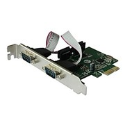 SUNWEIT PCI Express Serial 2-Ports Karte Add On-Karte für Desktop-